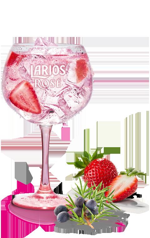 Larios Rosé Lemonade