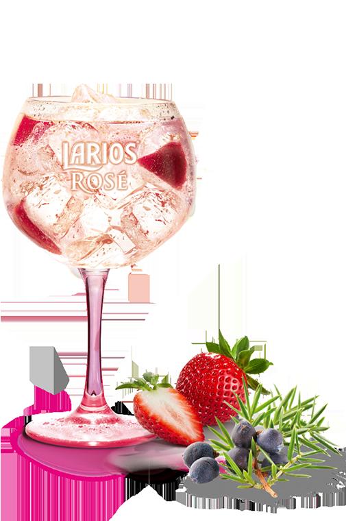 Larios Rosé Lemon